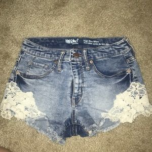 High Rise shorts from Target